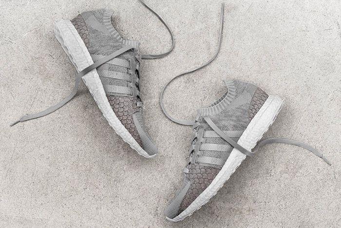 Pusha T Adidas Eqt Ultra Boost Pk Greyscale Thumb