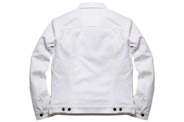Supreme Levis White Jacket Back 1