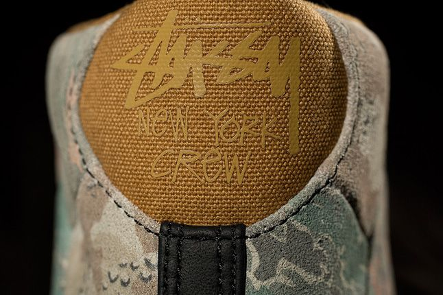 Stussy New York Converse First String Pro Leather Heel 1