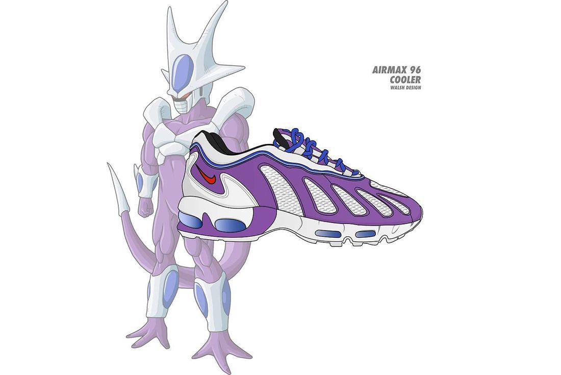 Dragon Ball Z Nike Walsh Design 3