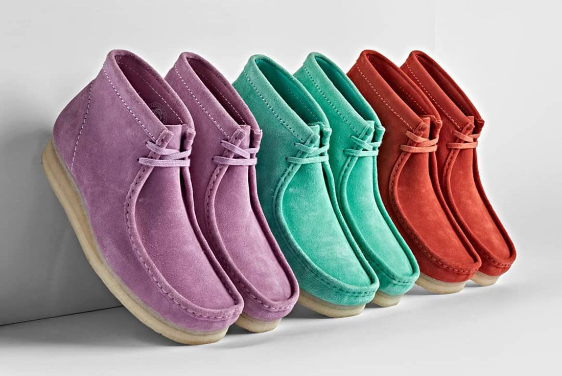 Clarks Wallabee Boot Line