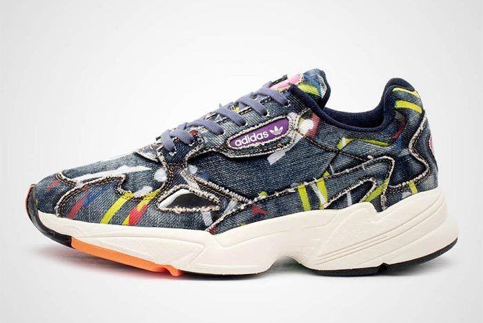 Adidas Falcon Denim Side Shot 1