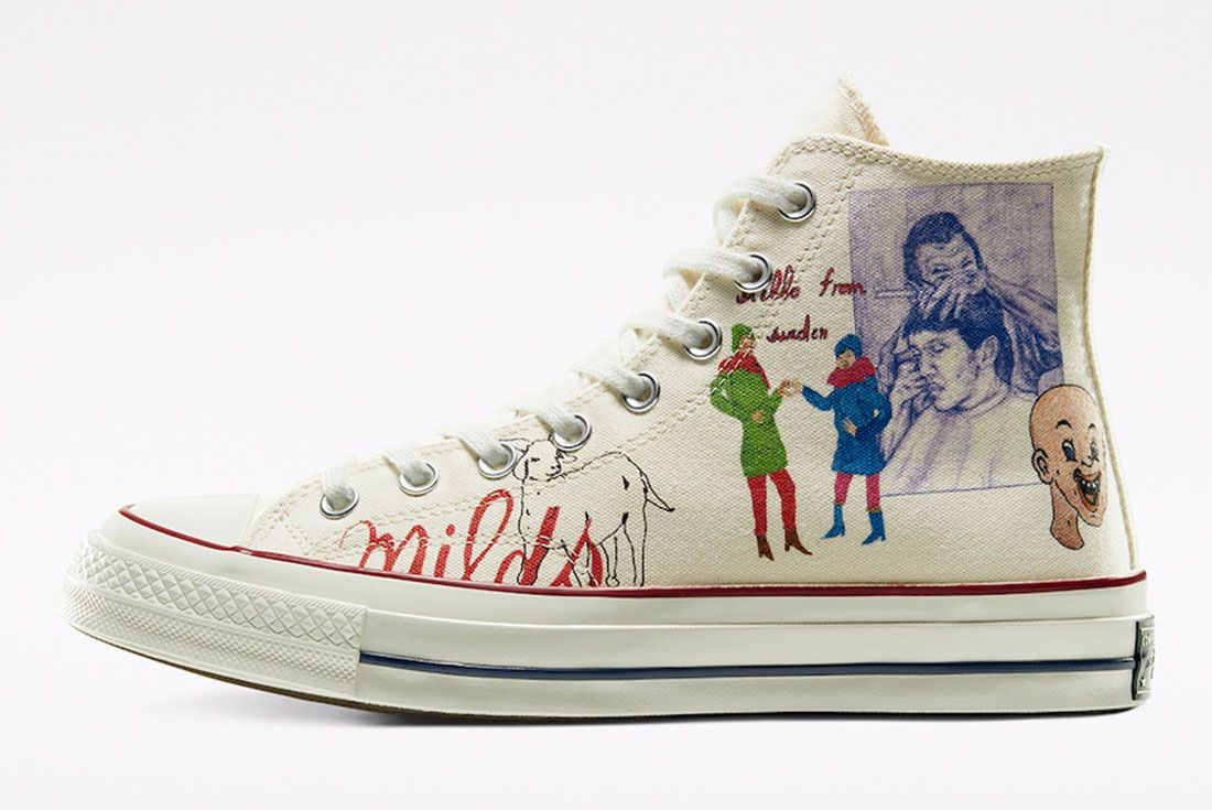 Spencer McMullen x Converse Chuck 70 Lateral
