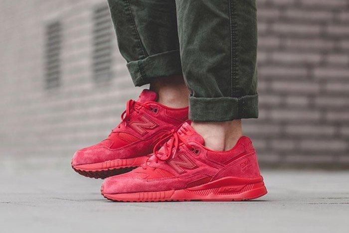 New Balance 530 Red Suede 3