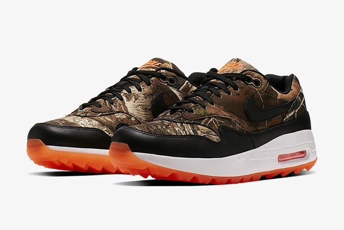Nike Air Max 1 Golf Realtree Camo Pair