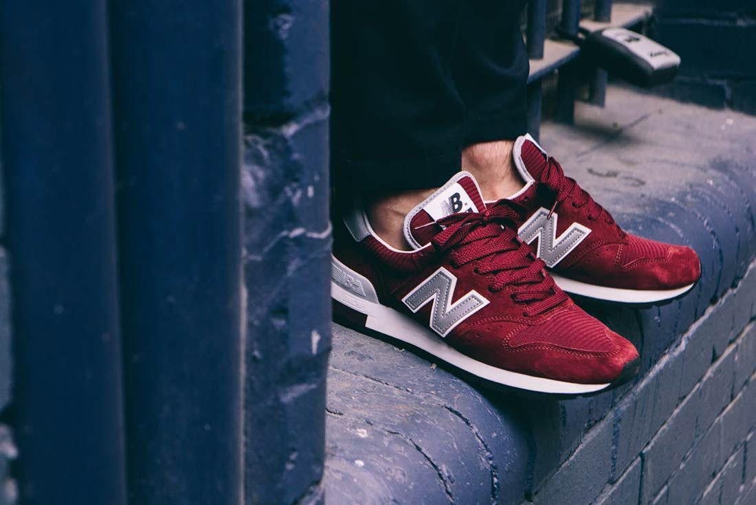 New Balance 995 Made In USA (Maroon) - Sneaker Freaker