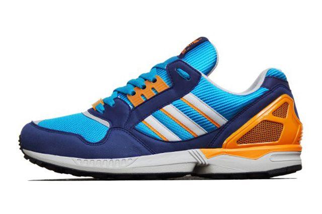 Adidas Zx 9000 Turquoise Orange 3