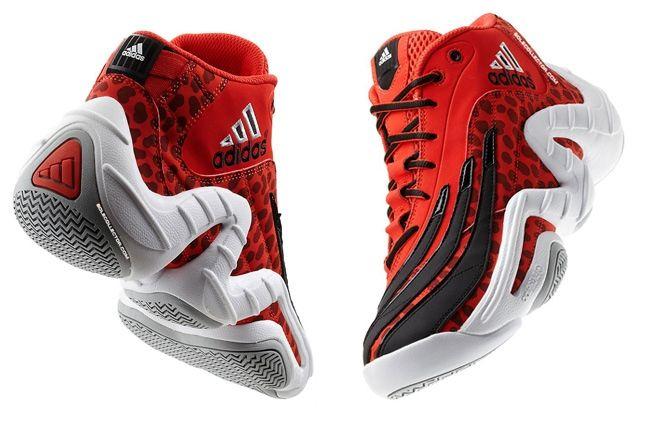 Adidas Realdeal Cheetah Red Split Quarters 1