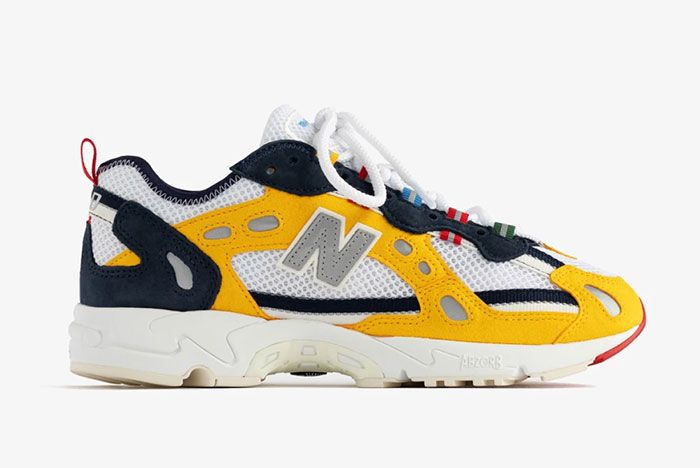 Ald Aime Leon Dore New Balance 827 Abzorb Yellow Official