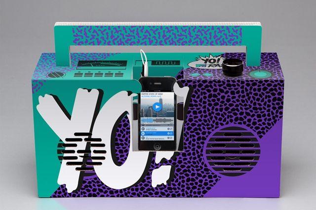 Berlin Boombox Yo Mtv Raps Boombox 1