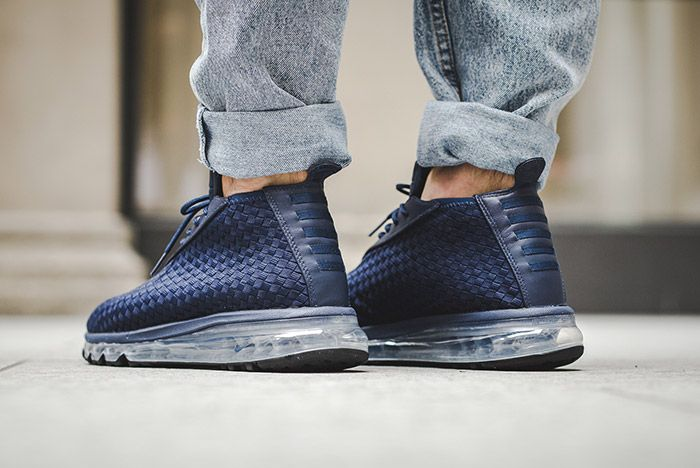 Nike Air Max Woven Boot Midnight Navy Blue 1