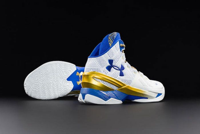 Under Armour Curry 2 Gold Rings 1 1