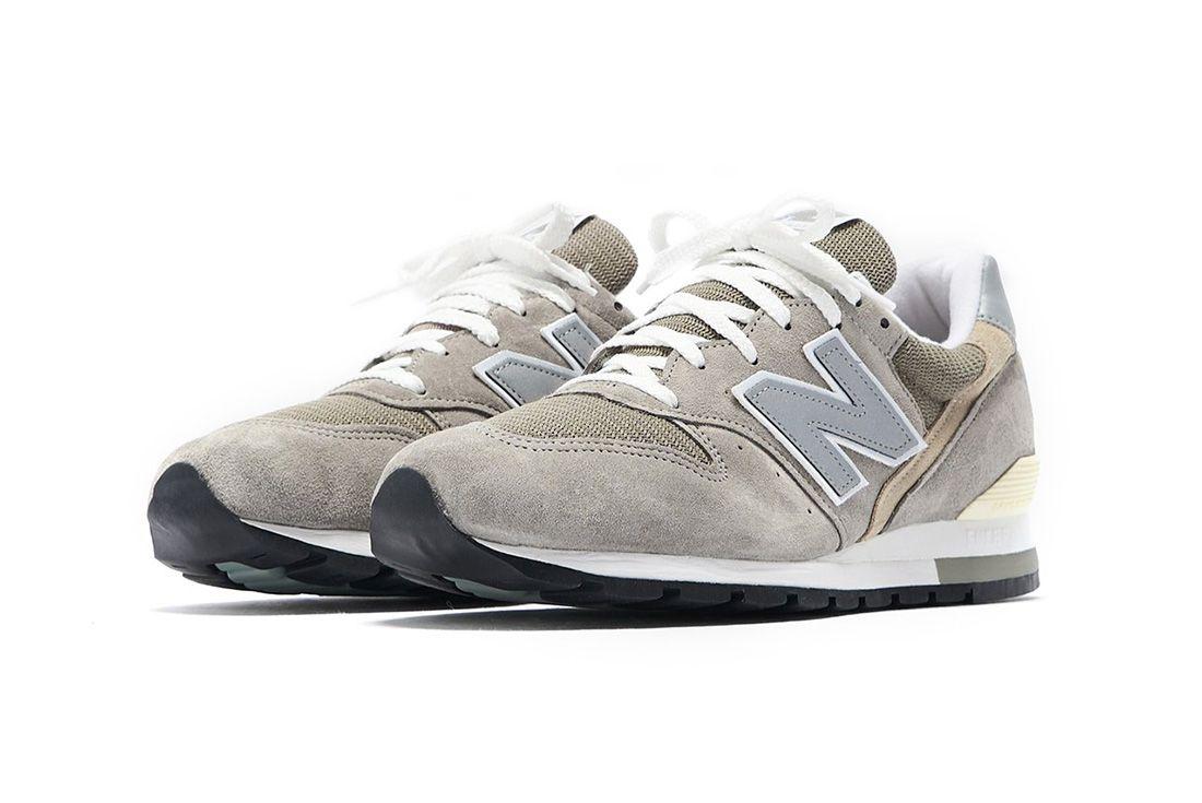 New Balance 996 Grey Front Angle
