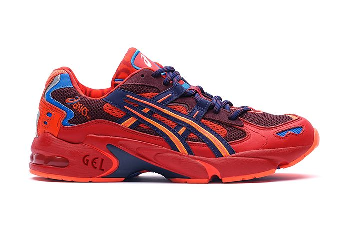 Vivienne Westwood Asics Gel Kayano 5 Og Red Release Date Lateral