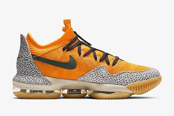 Nike Lebron 16 Safari Medial