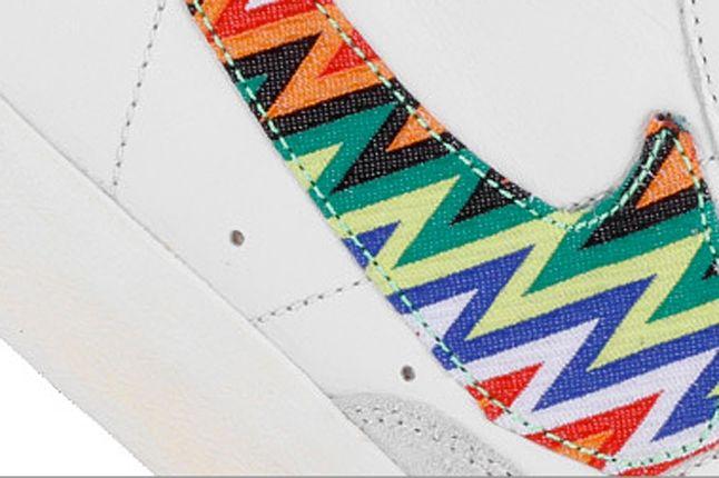 Nike Blazer Mid 77 Prm Vntg Sail Bright Citrus Detail 1
