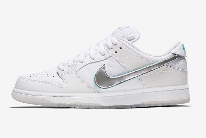 Diamond Supply Co Nike Sb Dunk Low Tiffany White Official 2