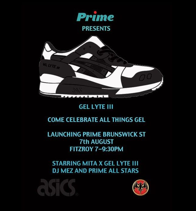Prime Presents Mita X Gel Lyte Iii 1