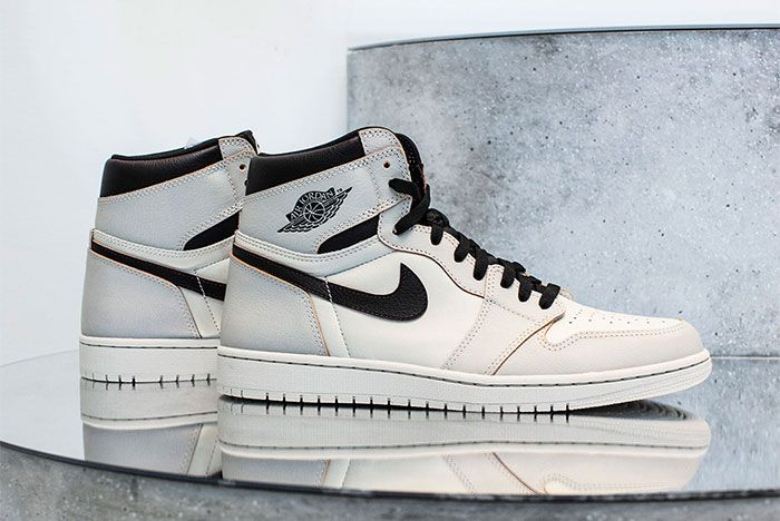 Nike Sb Air Jordan 1 Light Bone Right