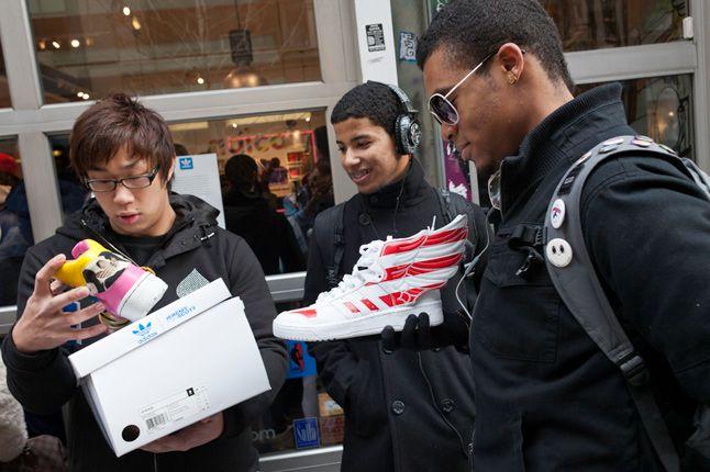 Jeremy Scott In Store Adidas Originals Soho New York 21 1