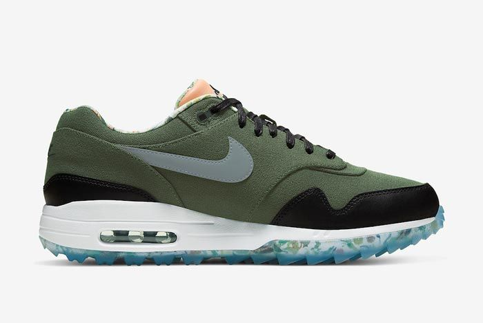 Nike Air Max 1 Golf Cargo Khaki Medial