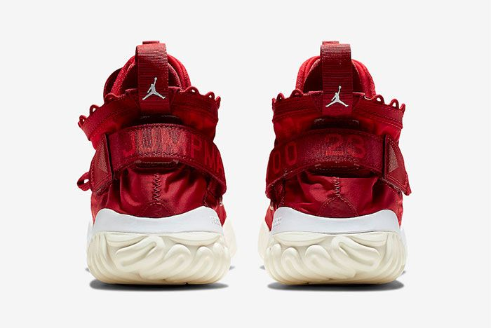 Jordan Proto React Red White Heel
