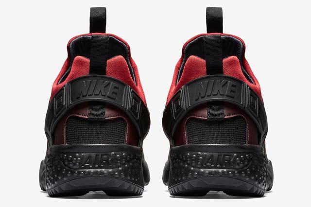 Nike Huarache Utility Blackgym Red5