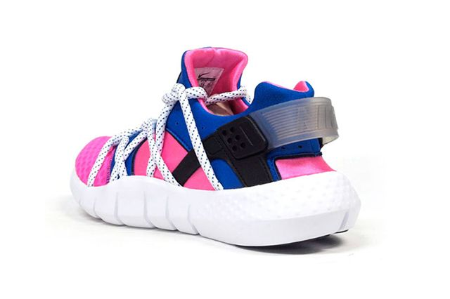 Nike Air Huarache Nm Royal Blue Pink Flash 4
