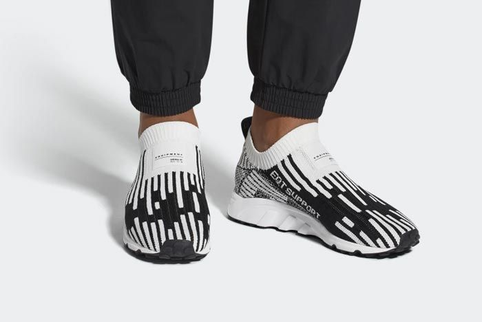 Adidas Eqt Support Sock Primeknit White 3