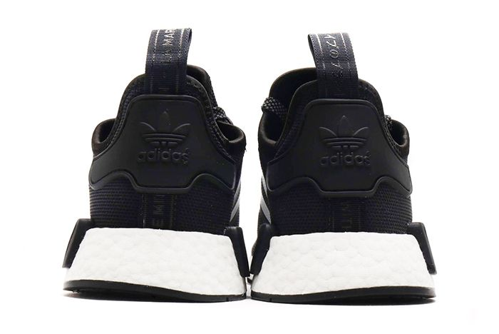 Atmos Adidas Nmd R1 Black White 4