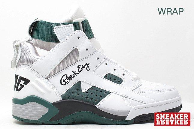 Ewing Sneakers Wrap Green White 1