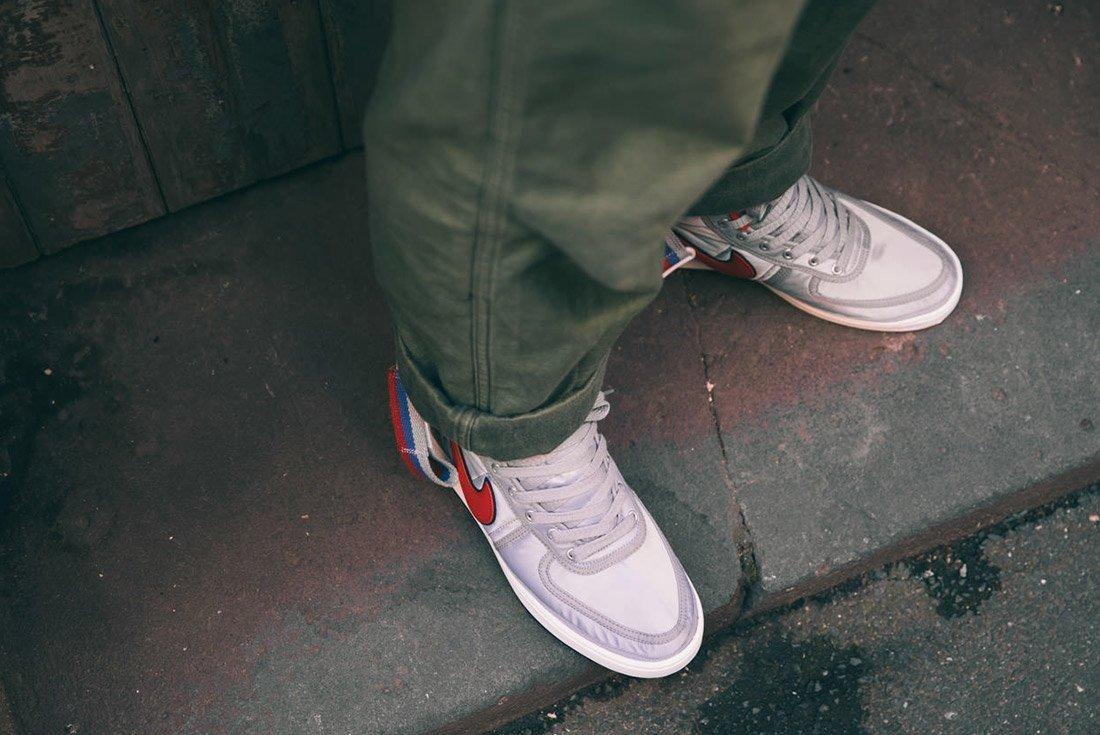 Nike Vandal High Supreme Qs Metallic Silver 6