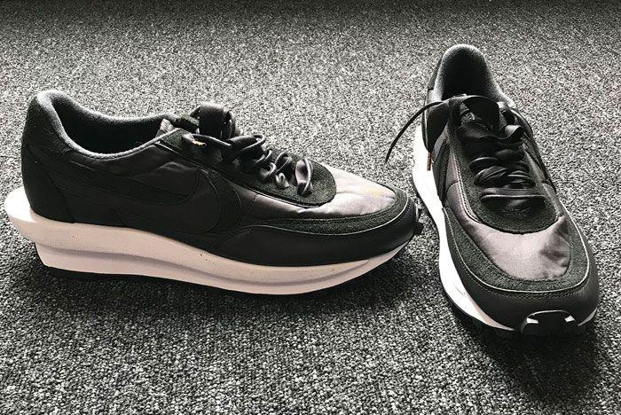 Sacai Nike Ldwaffle Black