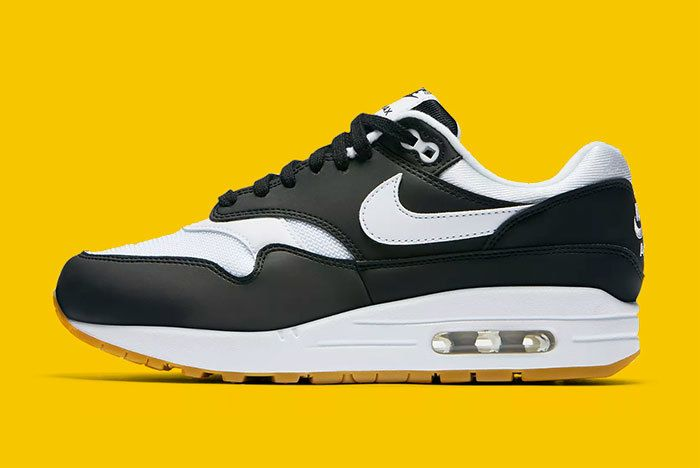 Nike Air Max 1 Black White Gum 1