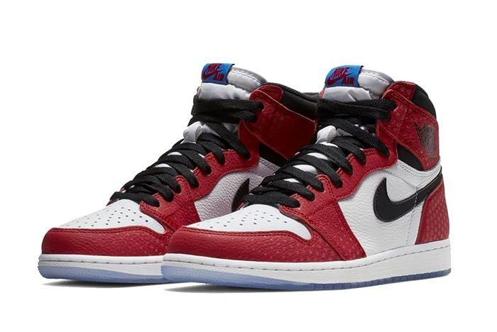 Air Jordan 1 Spiderman 2