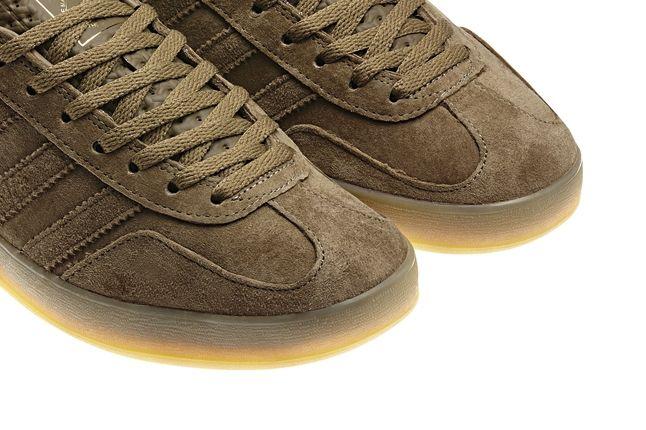 Adidas Gazelle Indoor Brown Gum Sole Detail 1