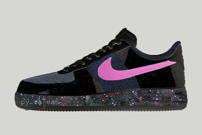 Sony Playstation X Nike Air Force 1 Low 2018 Sneaker Freaker 3