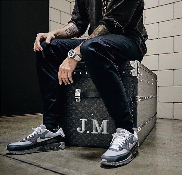 John Mayer Nike Air Max 90 Spirit Level Small