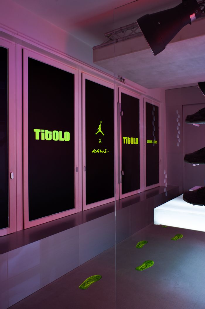 Titolo Launches Kaws X Air Jordan 4 Pop Up In Zurich6