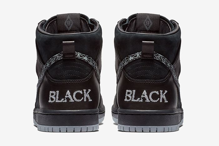 Black Bar Nike Sb Dunk High 4