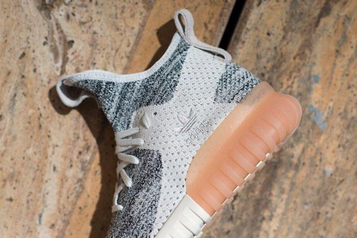 Adidas Tubular X Primeknit White Grey 1