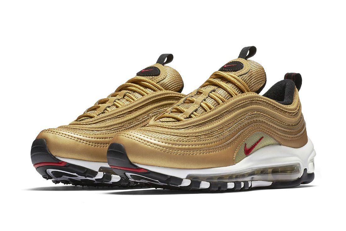Nike Air Max 97 Metallic Gold 10
