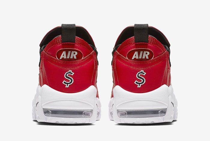 Nike Air More Money Red 5