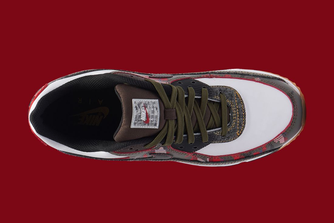 Nike Air Max 90 Denim Camo Top