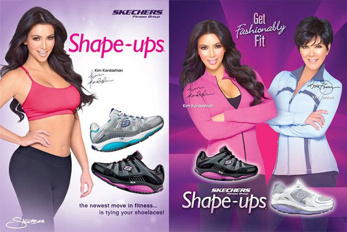 Skechers Kim Kardashian Shape Ups