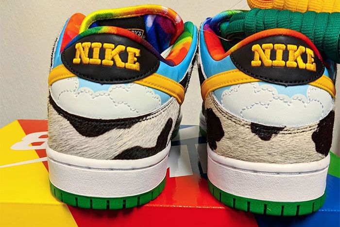 Ben And Jerry Nike Sb Dunk Low Chunky Dunky Heel