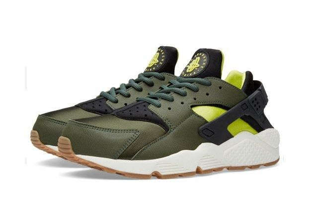 Nike Huarache Carbon Green Black 1