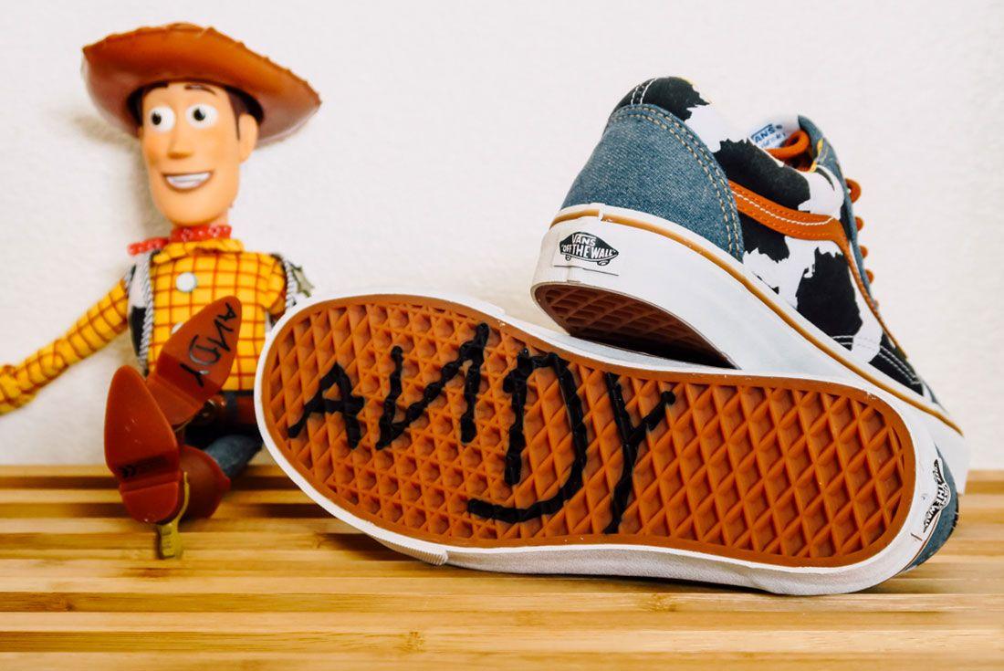 Toy Story X Vans 2