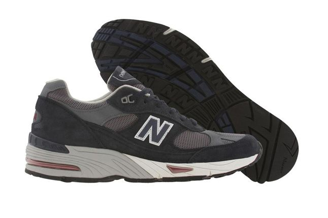 New Balance 991 Pys Exclusive Navy Side Sole 1