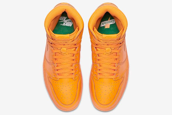 Gatorade X Air Jordan 1 Orange Peel Official Images4